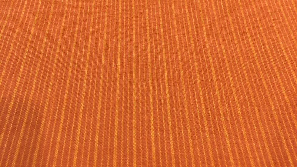 100% Cotton Chats Rust Stripe