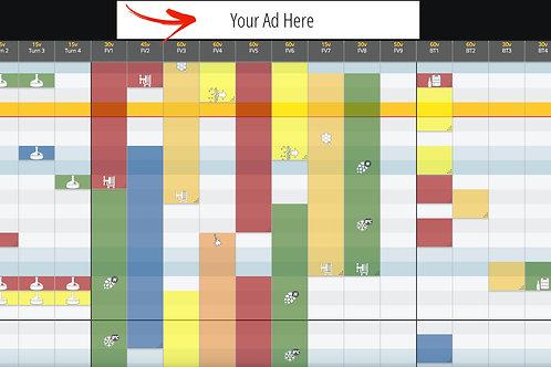 BrewPlanner Banner Advertising- 1 year
