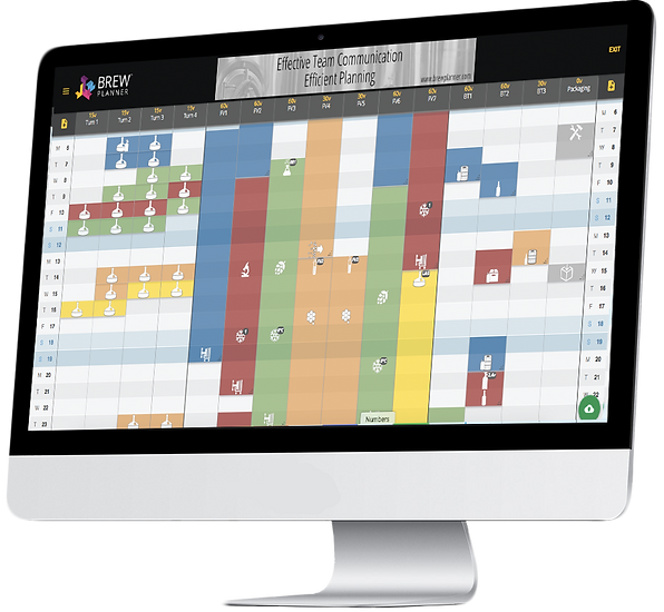 Brew Planner- free scheduling software for craft breweries.