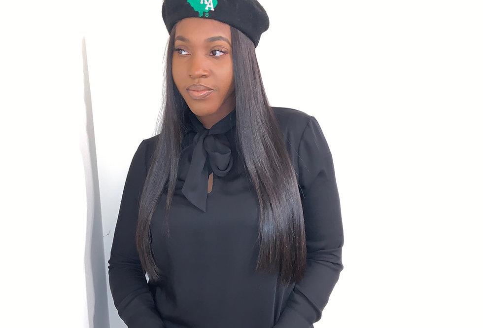 Black AKA Beret