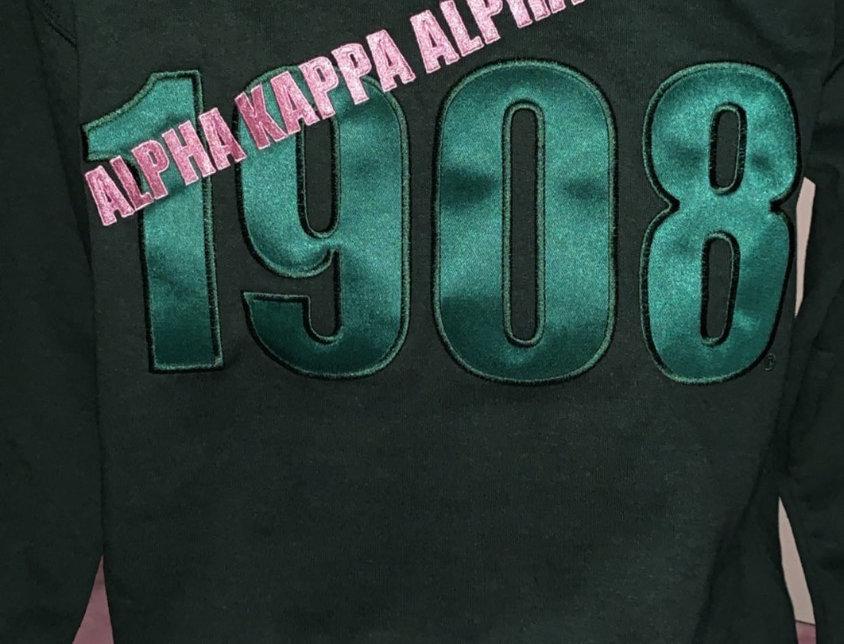 Gorgeous Green '1908'Sweatshirt