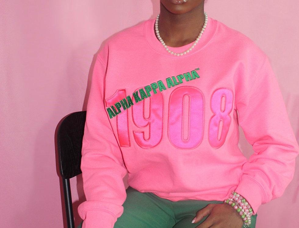 Barbie Pink '1908' sweatshirt