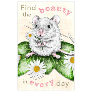 'Find the Beauty in Every Day' Postcard