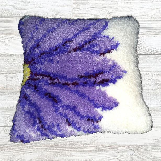 Purple Aster Cushion