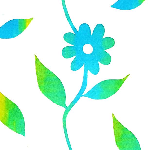 Lone Blue Dahlia