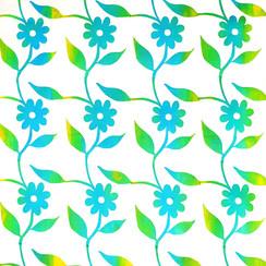 Blue Dahlias