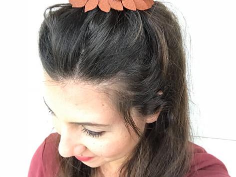 Leather Headband DIY