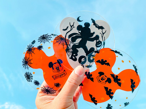 Mickey Halloween Balloon Coasters