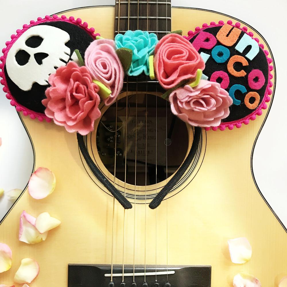 Un Poco Loco Coco Mickey Ear DIY