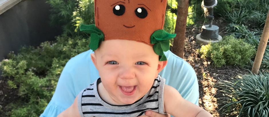 Baby Groot Headband DIY