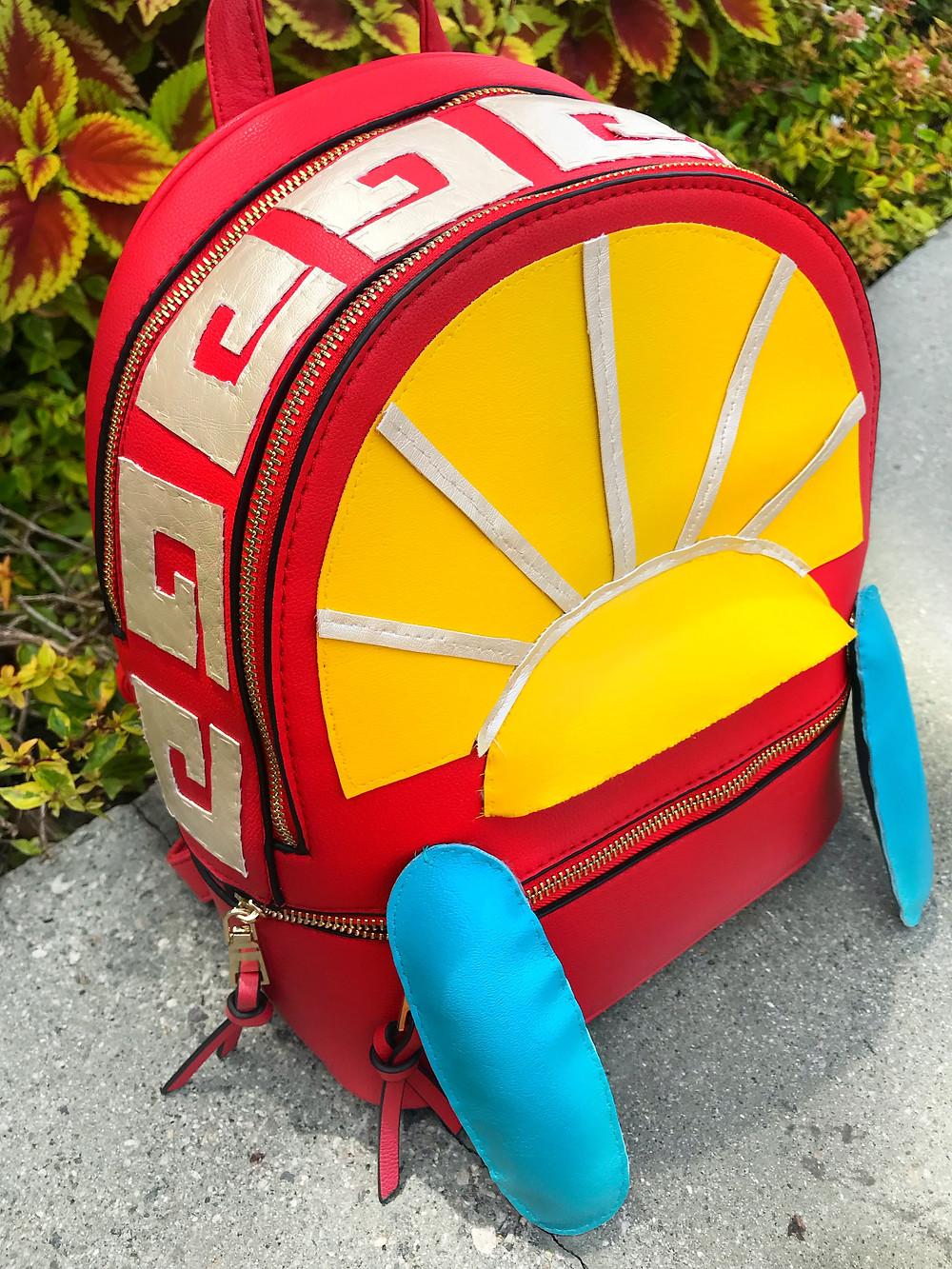 Emperor's New Groove Disney Backpack DIY