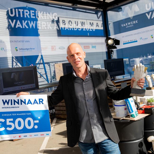 Dutch Wood Artist Award winner