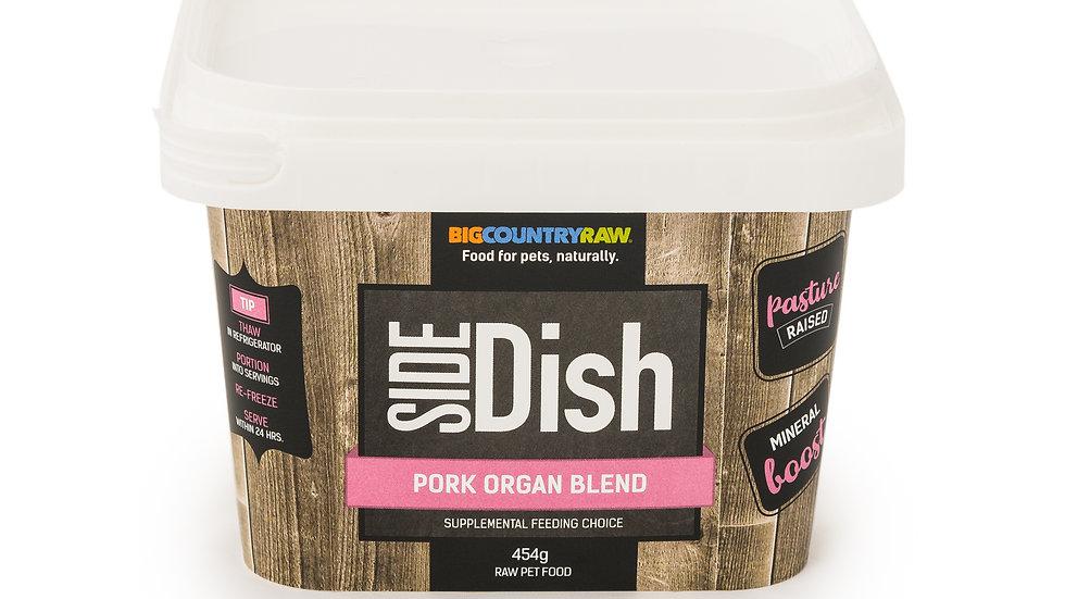 BCR - Mélange d'organes de porc, 1lbs