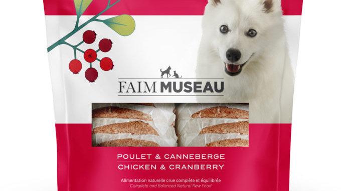 Faim Museau - Poulet / Canneberges 6lbs