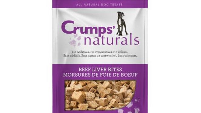 Crumps' - Morsures de foie de boeuf (135g)