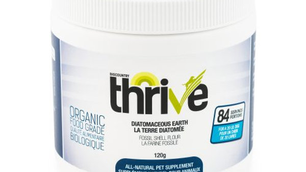 BCR - Thrive, Terre diatomé, 120g