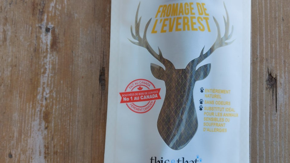 This &That - Bois de cervidé, Fromage de l'Everest (XL)