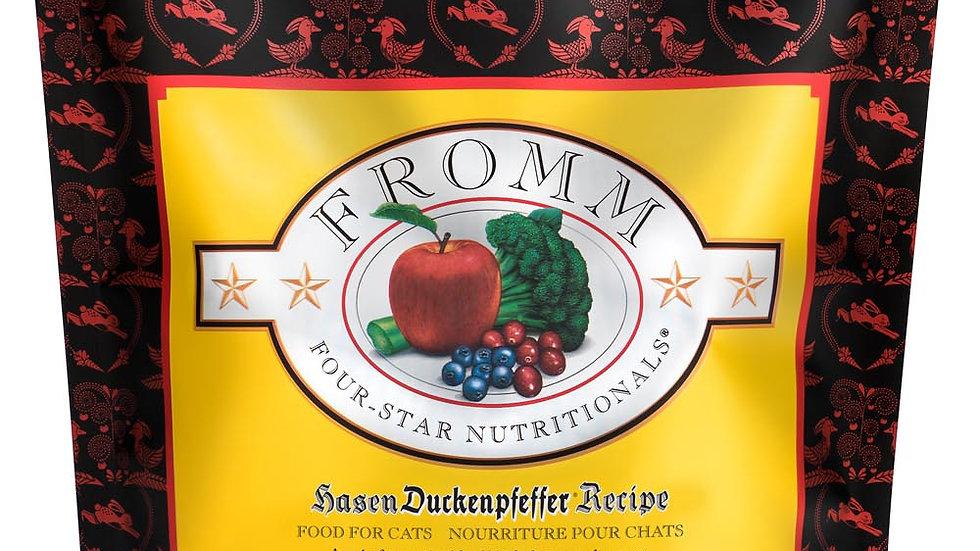 Fromm 4* Chats sans grain- Hasen Duckenpfeffer 0.9 kg