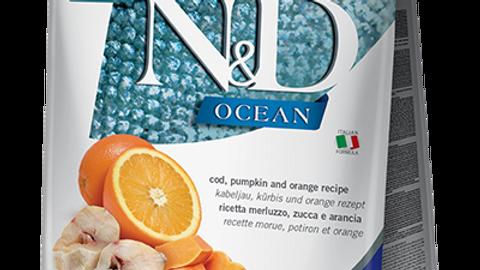 Farmina - Mini Chien, Ocean, Morue, Orange et citrouilles, (5.5lbs)