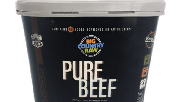 BCR - Pure boeuf, Contenant (4lbs)