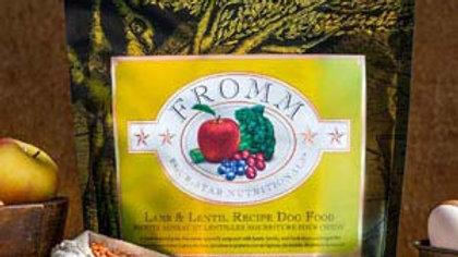 Fromm 4* sans grains - Agneau & lentilles 5.5 kg