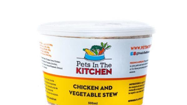 BCR - Pets in the kitchen - Ragoût de poulet et légumes 454g