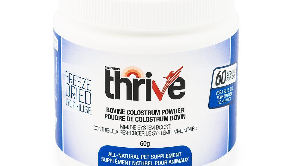 BCR - Thrive, colostrum bovin, 60g