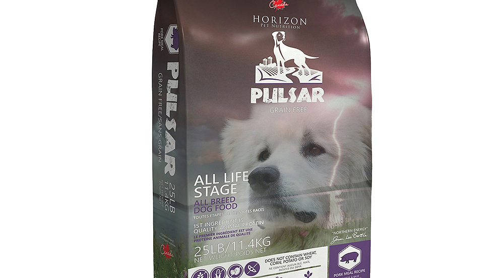 Pulsar - Sans Grain Porc 11kg
