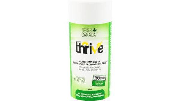 BCR - Thrive, Huile de Chanvre, 500ml