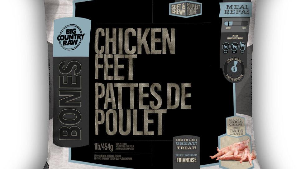 BCR - Pattes de poulet 1lbs