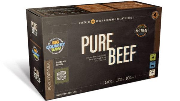 BCR - Pure Boeuf,carton (4lbs)