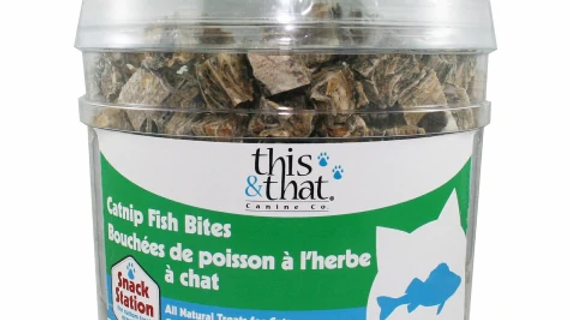 This & That - Bouchées de poisson catnip  - vrac