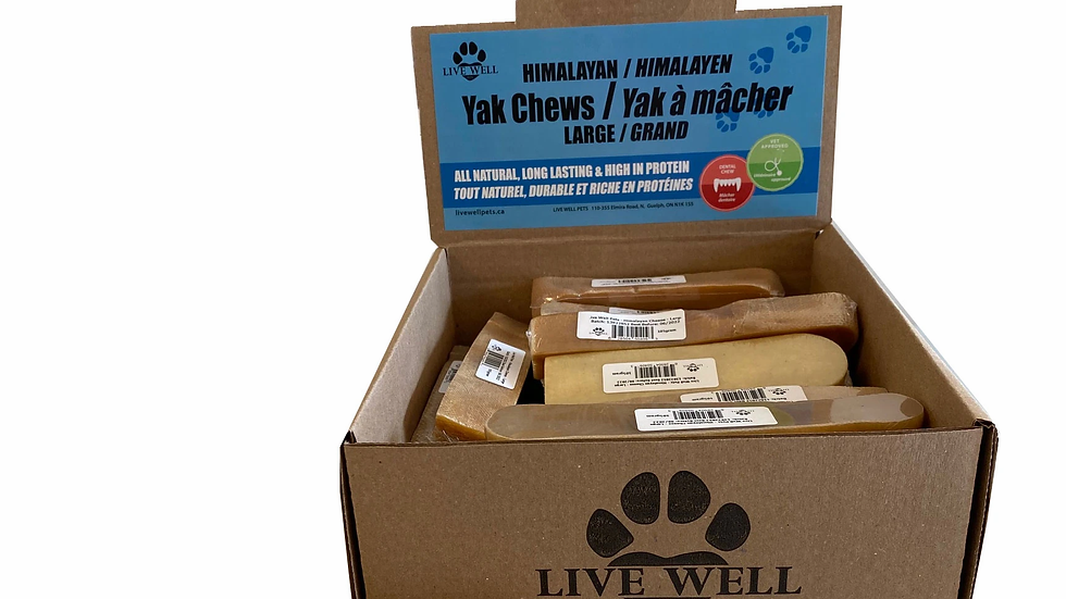 LIVE WELL FROMAGE DE YAK HIMALAYEN Large 100g