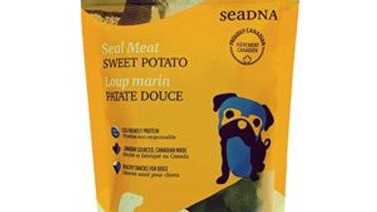 SEADNA - Friandises de loup marin et patate douce (100g)