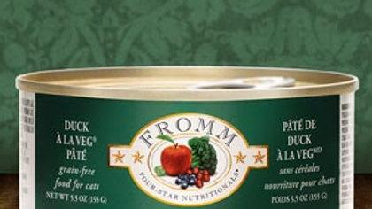 Fromm 4* Paté chat - Canard 5.5 oz