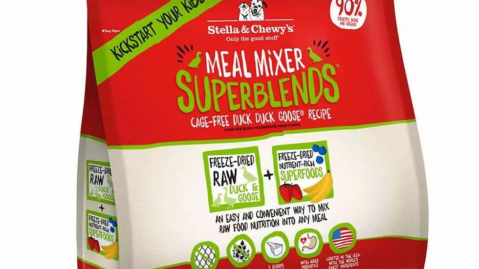Stella & Chewy's - Meal Mixers Superblends, Canard