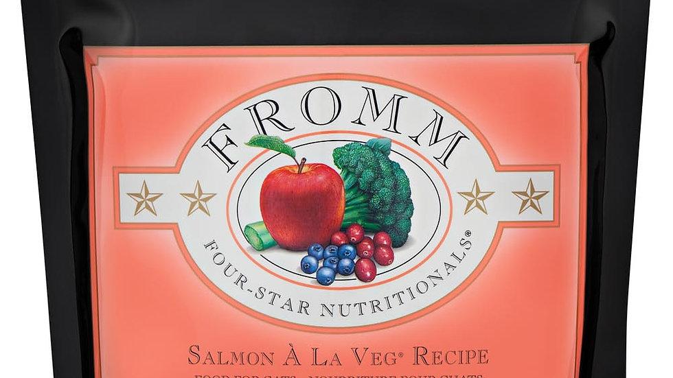 Fromm 4* Chat - Saumon à la veg 1.1 kg