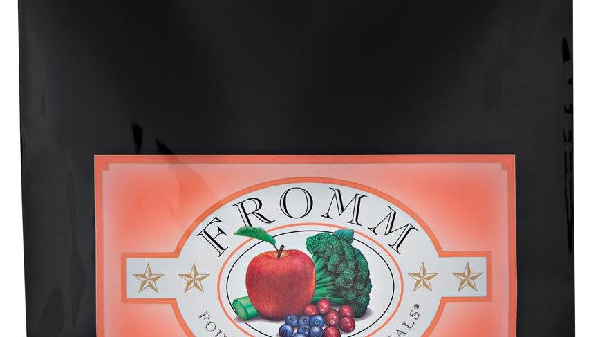 Fromm 4* Chat - Saumon à la veg 6.8 kg