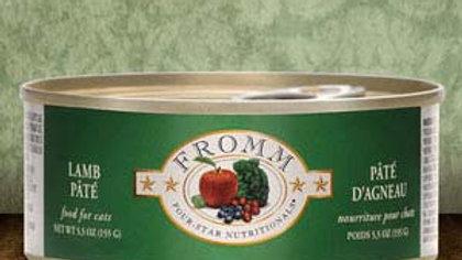 Fromm 4* Paté chat - Agneau 5.5 oz