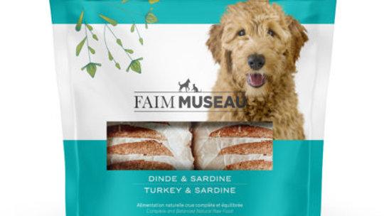 Faim Museau - Dinde / sardine 6lbs