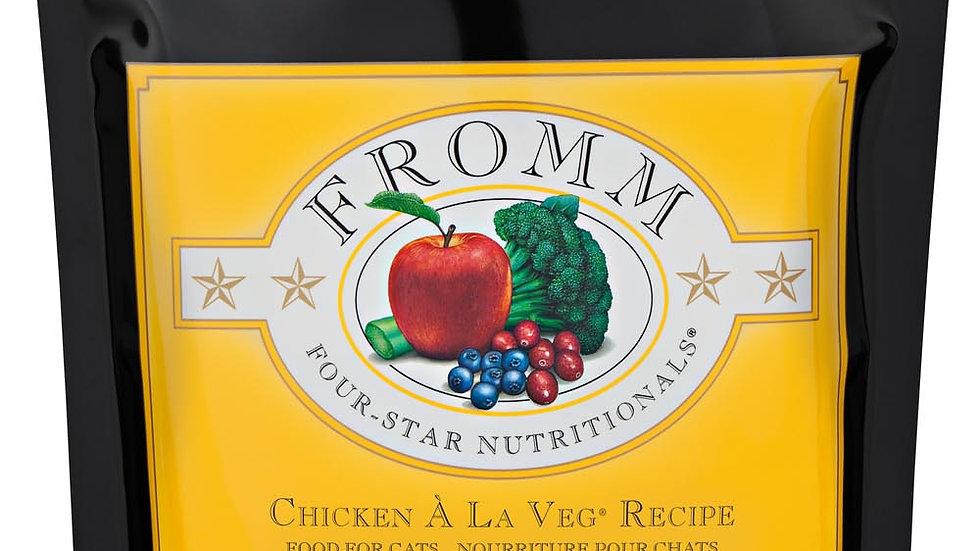 Fromm 4* Chat - Poulet à la veg 1.1 kg