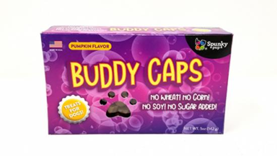 SPUNKY PUP Buddy Caps Citrouille 142g