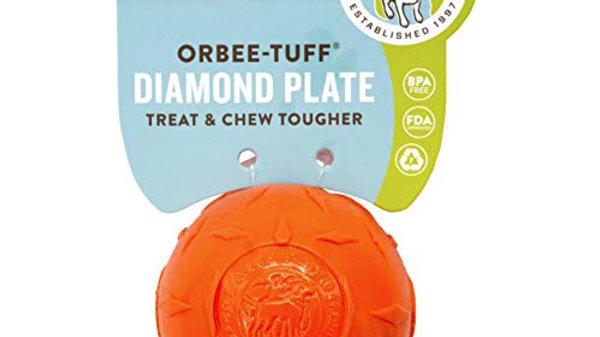 Planet Dog - Diamond plate, orange (grand)