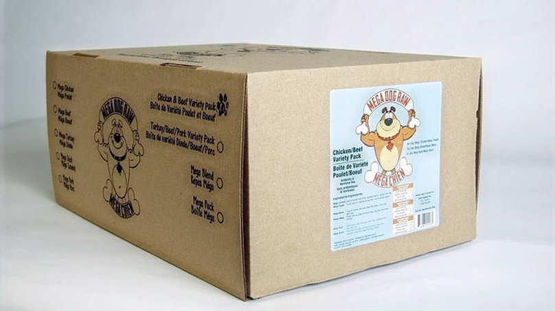 Mega Dog - Variety Pack Poulet et boeuf (24lbs)