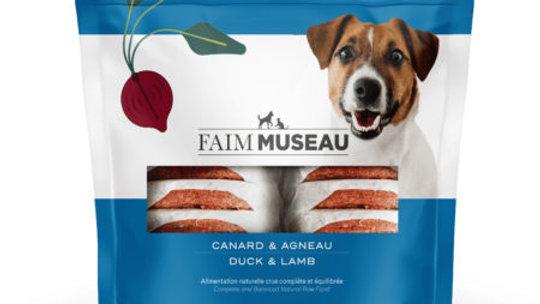 Faim Museau - Agneau/Canard 6lbs