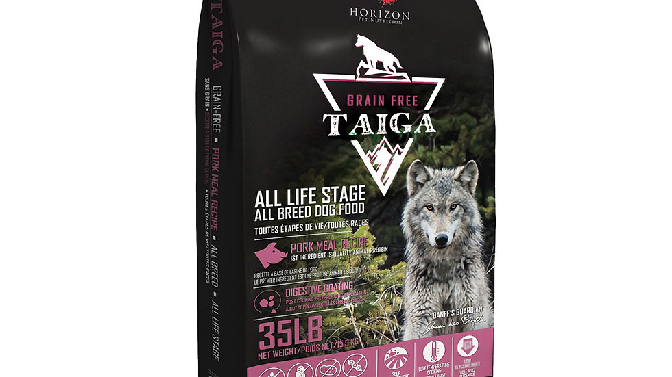 Taiga -Sans Grain Porc 15.9kg