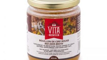 Vita Nutrition - Bouillon d'os de cerf rouge (415ml)