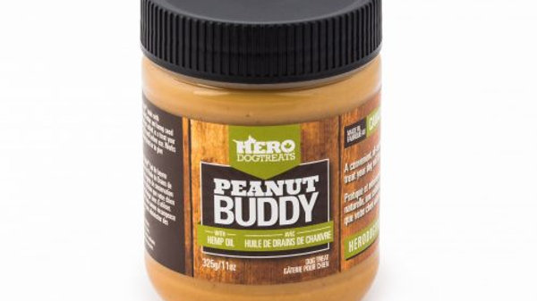 Hero Dog Treats - Peanut Buddy huile de chanvre