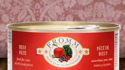 Fromm 4* Paté chat - Boeuf 5.5 oz