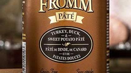 Fromm Paté - Dinde, canard & patates douces 12 oz